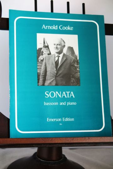Cooke A - Sonata for Bassoon & Piano